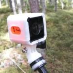 Runcam 3 on selfie stick