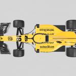 OpenRC F1 Halo - Top