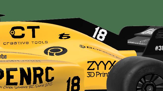 OpenRC F1 2018 - Daniel Norée