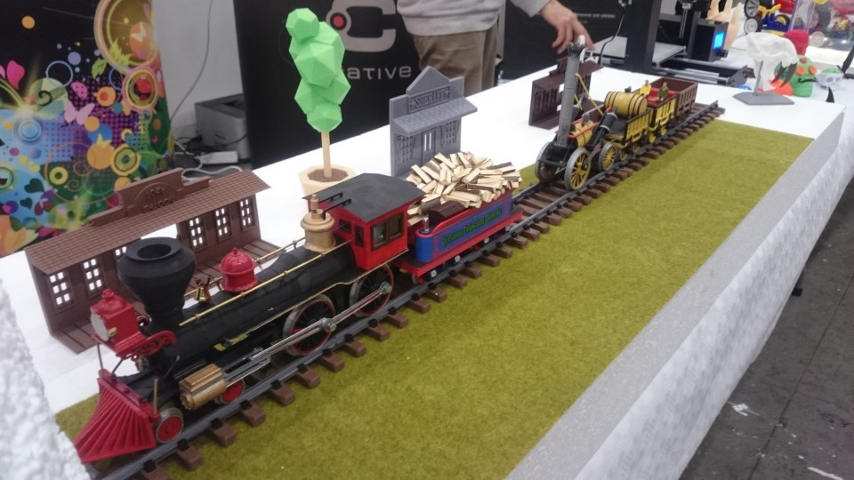 3D Printed Trains By Göran Jonsson