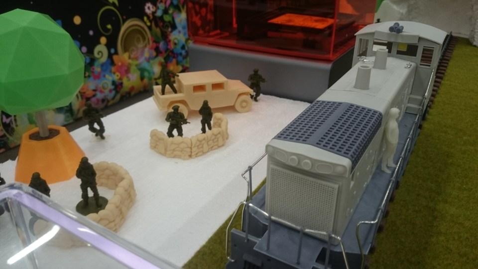 3D Printed EMD SW1500 Loco
