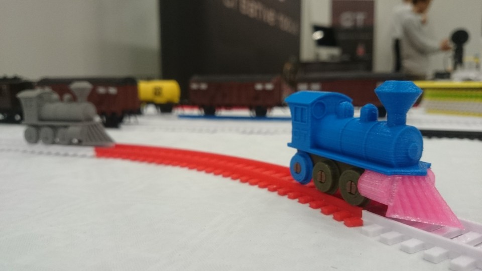 3D Printed Toy Train By Creative Tools