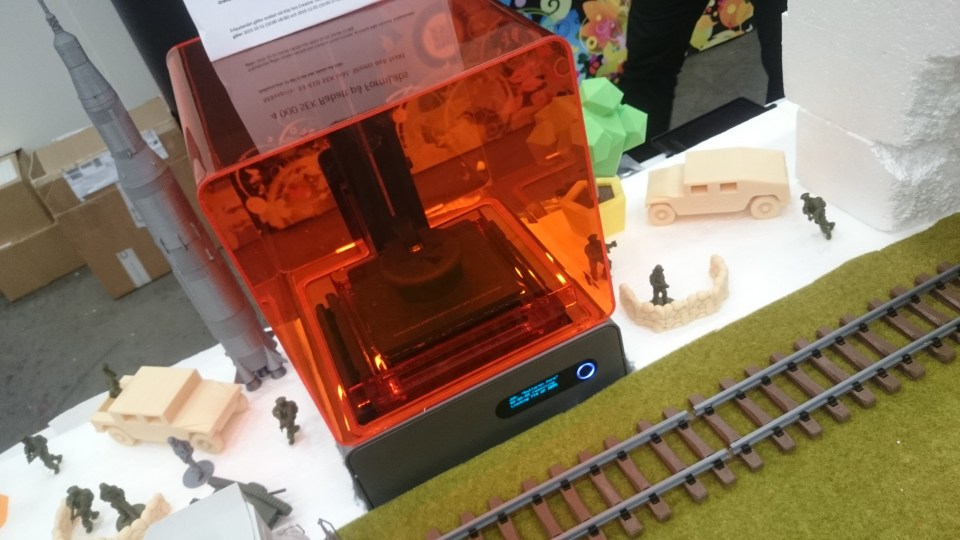 Form 1+ SLA 3D Printer From Formlabs