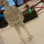 3D Print Of Christian Hedlund From 1 Man – 20 Voices