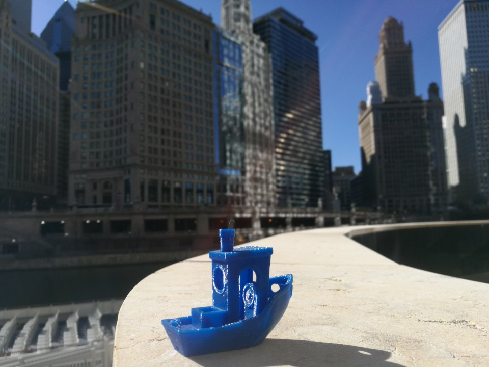 3DBenchy In Chicago