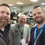 Eric Lien, William J. Steele & Myself
