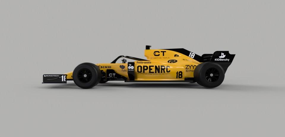 OpenRC F1 2018 Updates
