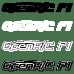 OpenRC F1 Logox4