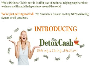 Detox Cash Is Open