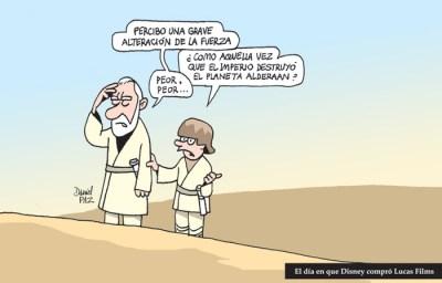 """""""disney-compra-lucas"""" por Daniel Paz"""