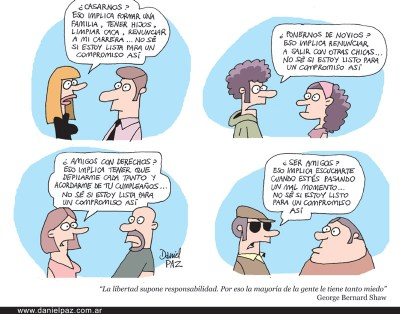 """compromiso"" por Daniel Paz"