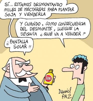 """desmonte"" por Daniel Paz"