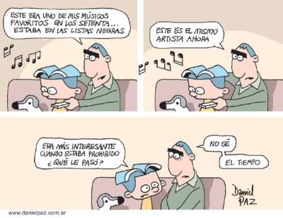 """""""listas-negras"""" por Daniel Paz"""