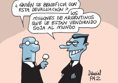 """millones"" por Daniel Paz"