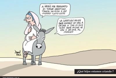 """""""los-hijos-y-el-mundo"""" por Daniel Paz"""