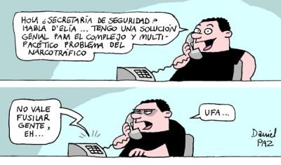 """""""narcotráfico"""" por Daniel Paz"""