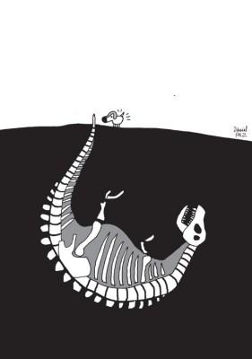 """""""paleontologia"""" por Daniel Paz"""
