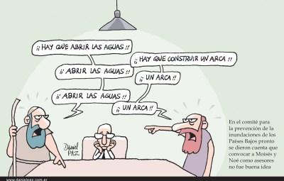 """""""moises-y-noe"""" por Daniel Paz"""