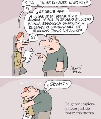 """""""justicia-por-mano-propia"""" por Daniel Paz"""