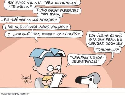 """aviones"" por Daniel Paz"