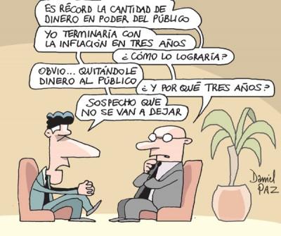 """inflación"" por Daniel Paz"