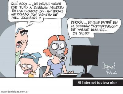 """comentarios"" por Daniel Paz"