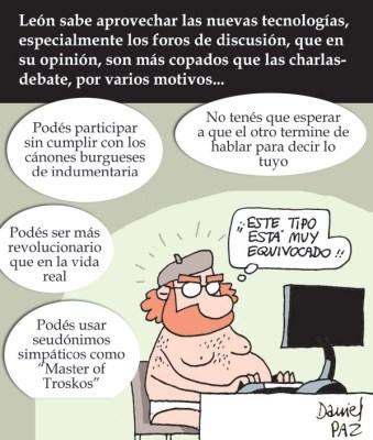 """""""foros"""" por Daniel Paz"""