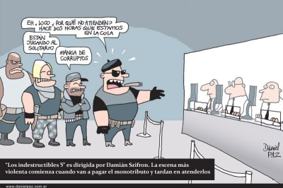 """""""los-indestructibles"""" por Daniel Paz"""