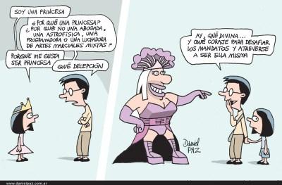"""""""princesas"""" por Daniel Paz"""