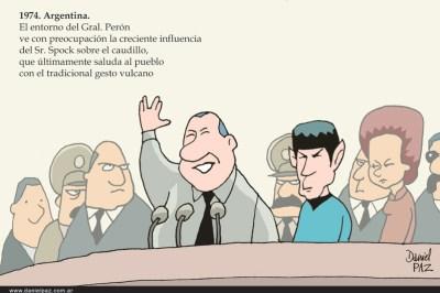 """peron_spock"" por Daniel Paz"