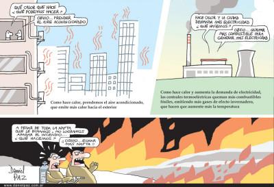 """""""que-calor"""" por Daniel Paz"""
