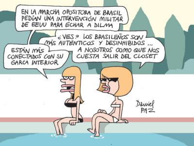 """desinhibidos"" por Daniel Paz"