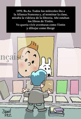 """tintin_hergé"" por Daniel Paz"