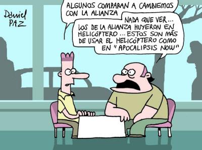 """helicopteros"" por daniel Paz"