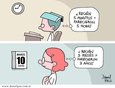 """""""el tiempo es relativo"""" por Daniel Paz"""