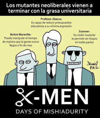 """x-men"" por Daniel Paz"