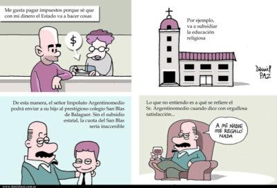 """""""educacion religiosa"""" por Daniel Paz"""