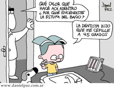 """""""consejo del dentista"""" por Daniel Paz"""