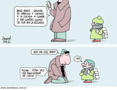 """""""vos no sos andy"""" por Daniel Paz"""