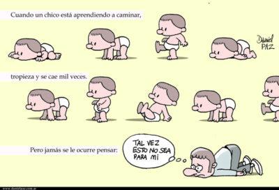 """""""caidas"""" por Daniel Paz"""