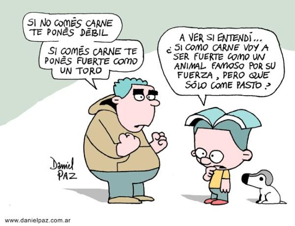 """fuerte-como-un-toro"" por Daniel Paz"