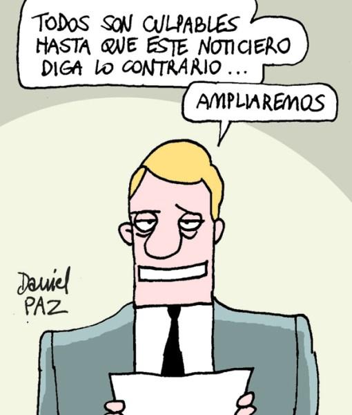 """""""noticiero"""" por Daniel Paz"""