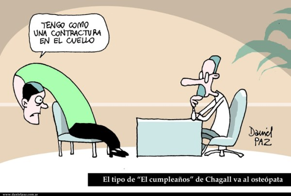 """chagall"" por Daniel Paz"