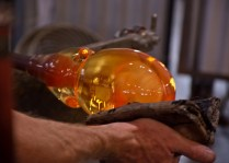 Shaping, forming, polishing, the personality of the piece emerges.