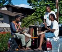 Members of Drum & Dance of Passion