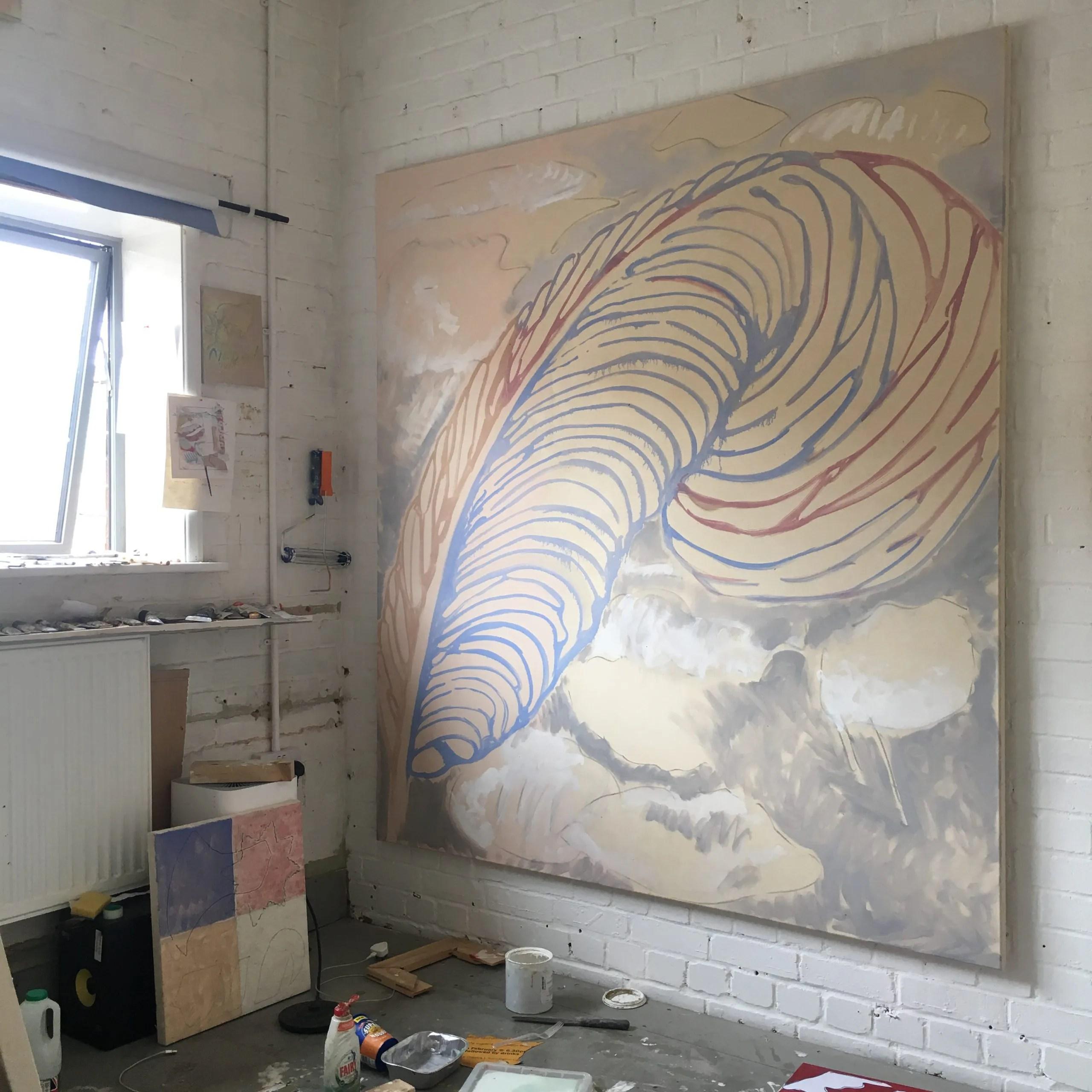 Plucked, 2018, oil on canvas – Daniel Pettitt