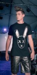 Mister Triple X at the Art Hearts Fashion Show, Art Basel Soiree