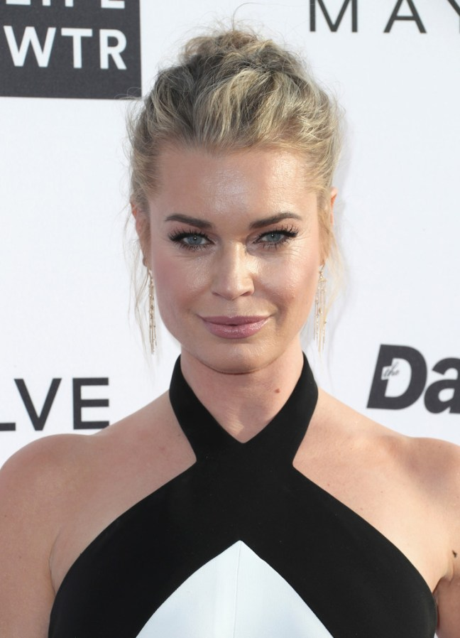 8805574250e Rebecca Romijn wore beautiful jewels to LA Fashion Awards – Daniel ...