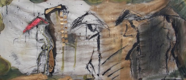 In Transit_mixed media on canvas_50x32