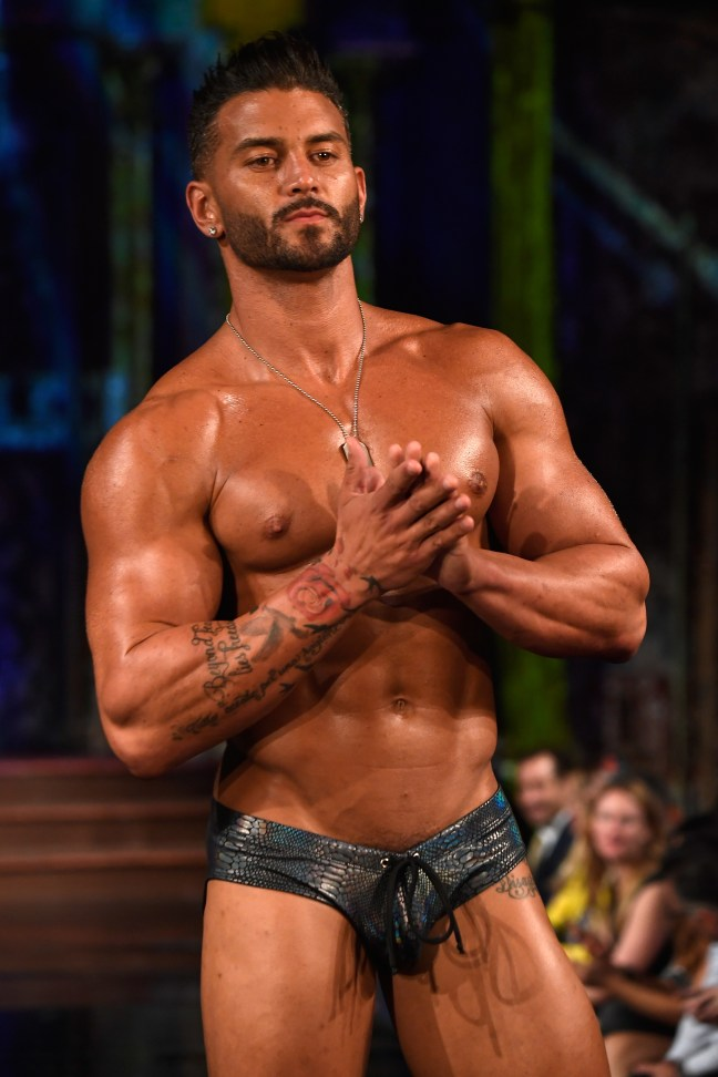 MISTER TRIPLE X At New York Fashion Week Powered By Art Hearts Fashion NYFW